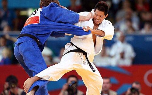 Combate olímpico de Judo