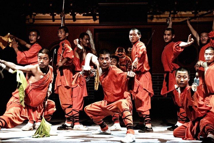 Maestros de Kung Fu